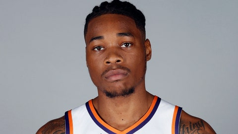 <p>               FILE - In this Sept. 24, 2018, file photo, Phoenix Suns' Richaun Holmes poses for a photograph during media day at the NBA basketball team's practice facility in Phoenix. Phoenix Suns big man Richaun Holmes was arrested for misdemeanor possession of cannabis after a Miami-area traffic stop. Twenty-five-year-old Holmes was arrested Tuesday night, May 22, 2019, along with former Brooklyn Nets forward James Webb III after authorities say the found a recently used marijuana joint inside their vehicle. (AP Photo/Matt York, File)             </p>