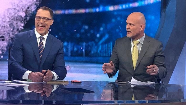Devils legends Stevens and Daneyko together on TV