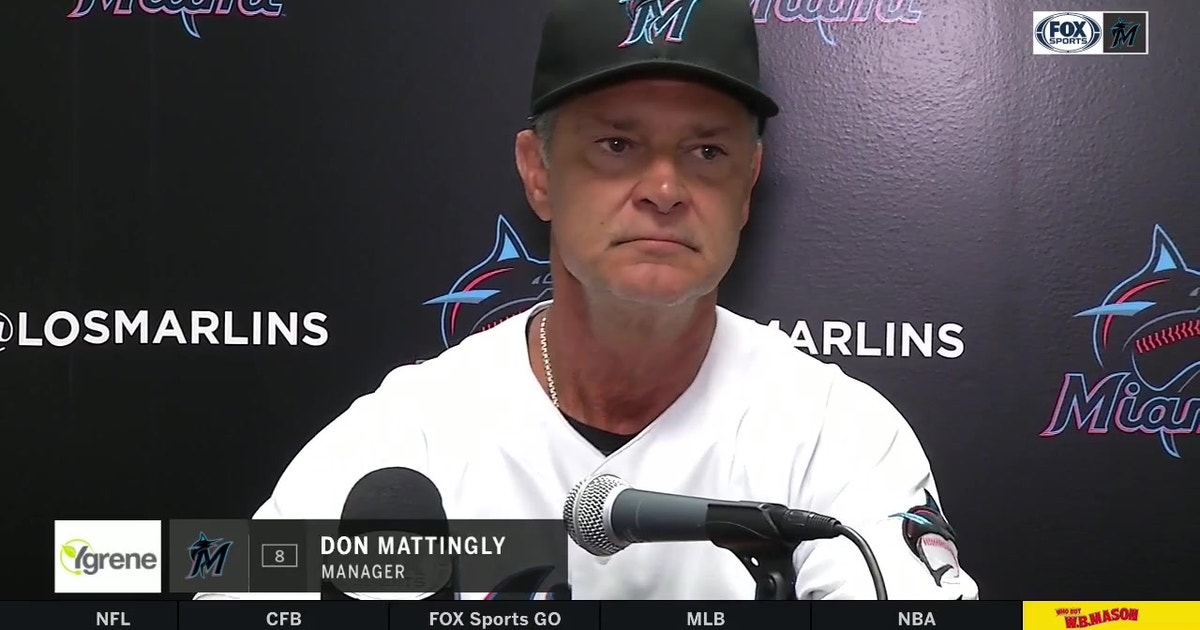 Don Mattingly talks about Caleb Smith's start against Rays