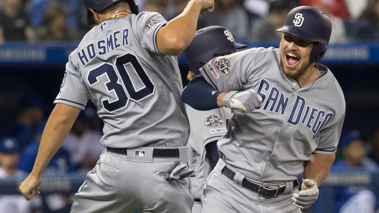 Renfroe's clutch 8th inning HR lifts Padres to fourth straight win