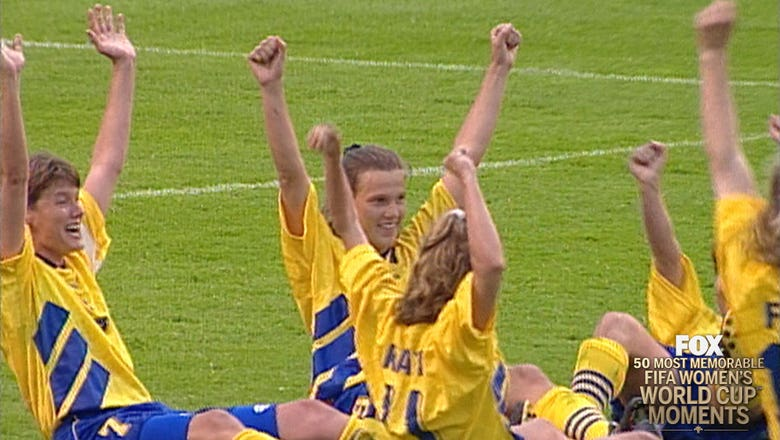 15th Most Memorable Women's World Cup Moment: Sweden's epic comeback