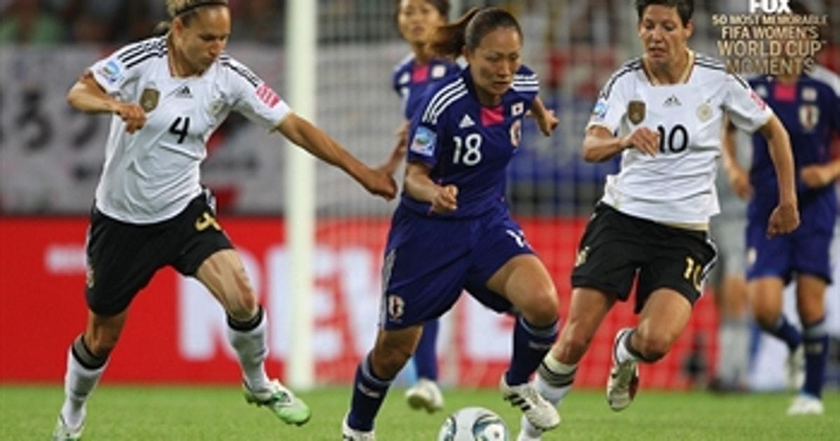 14th Most Memorable Women's World Cup Moment: Karina Maruyama shocks Germany
