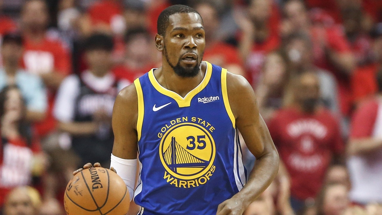 6d7a99034b5f Colin Cowherd elaborates how KD s injury could lead to him signing with the  Knicks