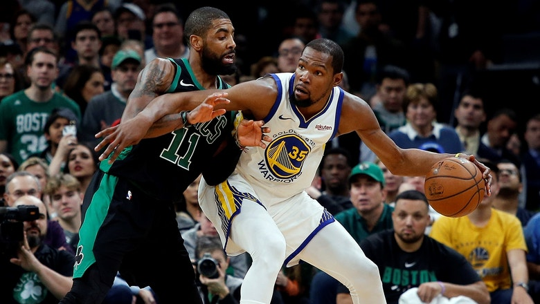 Skip Bayless: 'It should be KD, Kyrie in NYC'