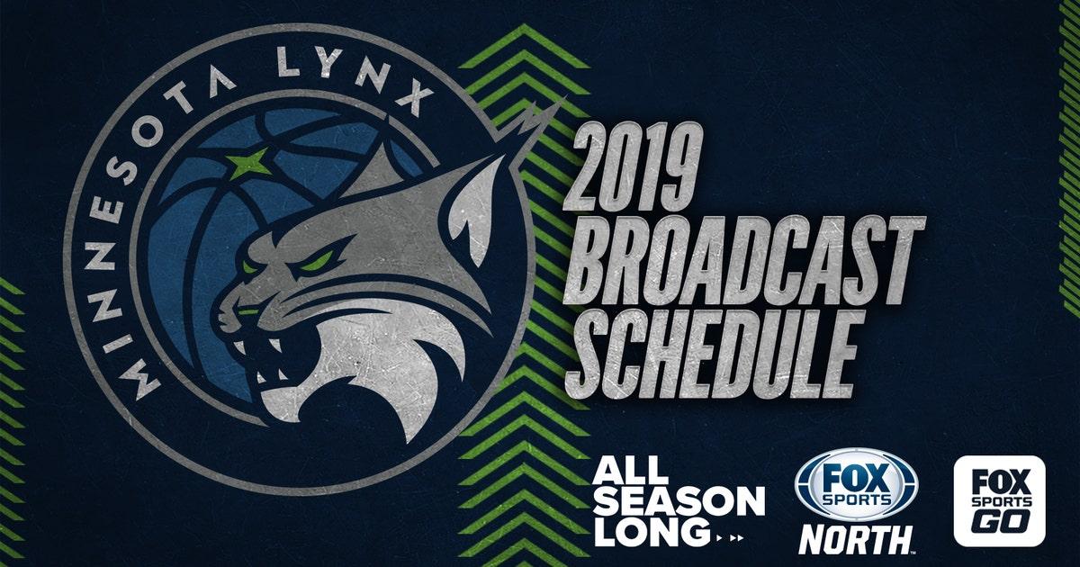 FOX Sports North announces 2019 Minnesota Lynx broadcast schedule