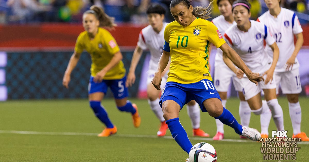 17th Most Memorable Women's World Cup Moment: Marta breaks the record