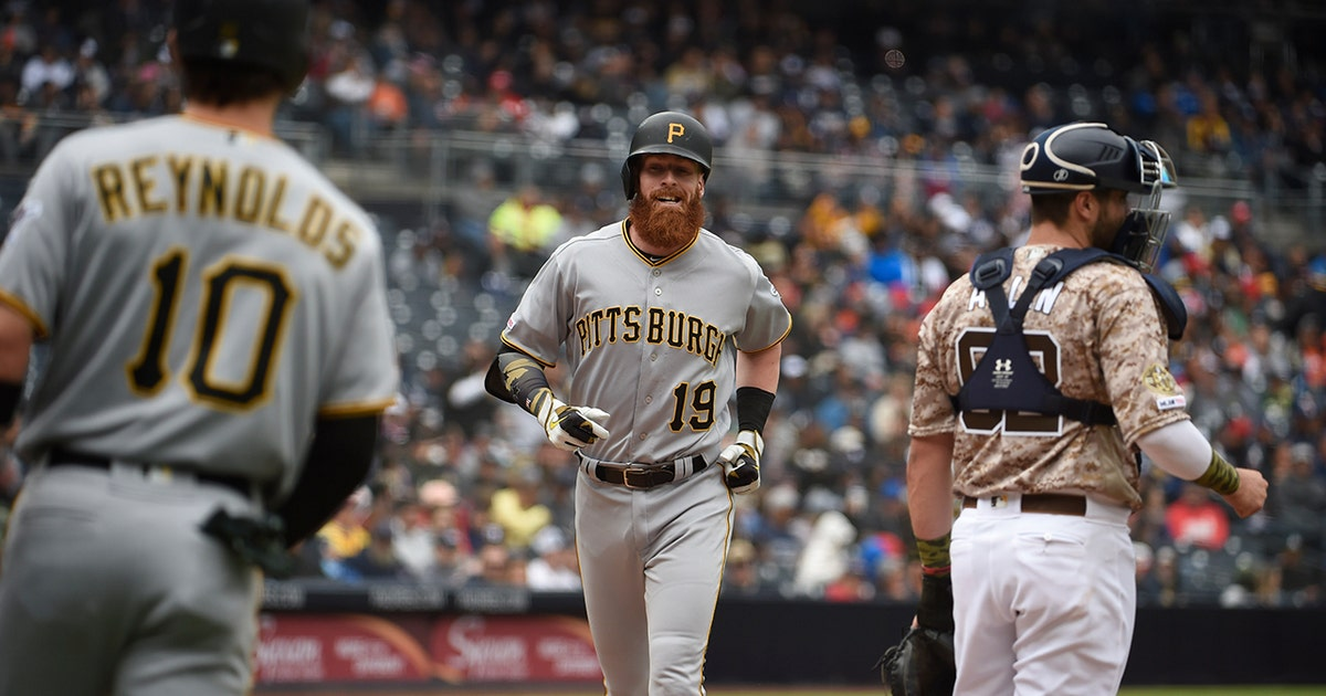 Colin Moran leads the charge in the Pirates win over Padres
