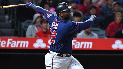 Miguel Sano, Twins third baseman (↓ DOWN)