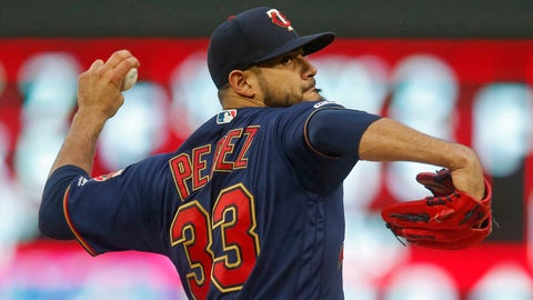 Martin Perez, Twins pitcher (⬇ DOWN)