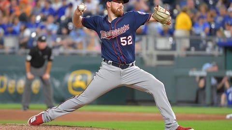 Zack Littell, Twins pitcher (↑ UP)