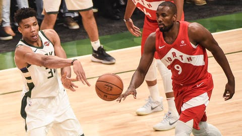 Toronto Raptors down Milwaukee Bucks, reach first ever National Basketball Association final