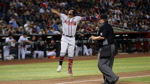 1. Ronald Acuña Jr. back where he belongs atop Braves' order