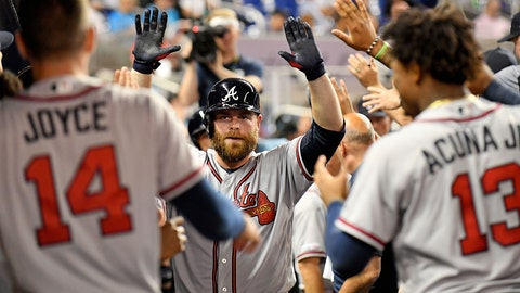 The Tyler Flowers-Brian McCann duo is keeping the Braves in elite catching company