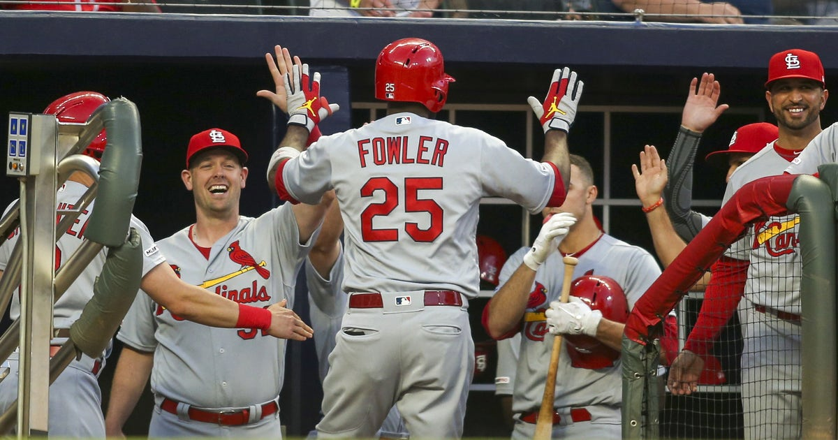Cardinals launch four homers, dominate Braves in 14-3 win