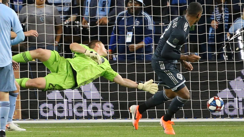 Sporting KC surrenders goal in stoppage time, settles for 1-1 draw with Vancouver