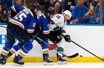 Schenn on Sharks: 'This team swarms you'