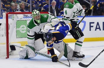 Blues' backs against the wall after Stars win Game 5 2-1