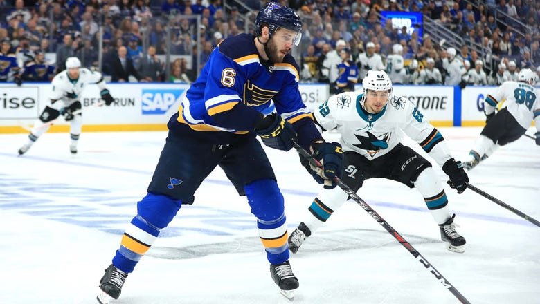 Blues' Edmundson gets one-year, $3.1 million deal at arbitration