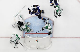 Maroon scores game-winner in double OT, lifts Blues to 2-1 Game 7 win over Stars