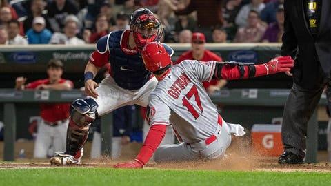Mitch Garver, Twins catcher (↓ DOWN)