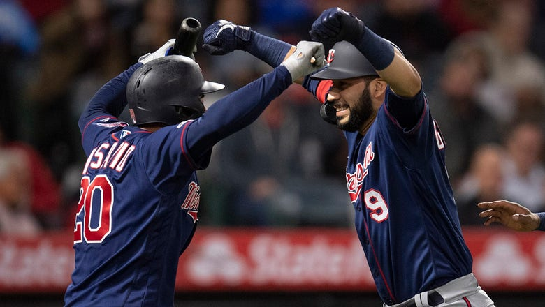 Twins rally, overwhelm Angels for 8-3 win