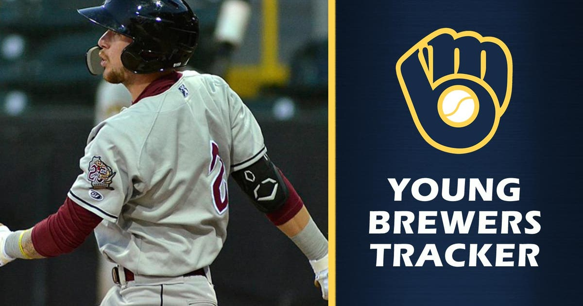 b19f9bc9cc0 Milwaukee Brewers 2018 top pick Brice Turang on hitting tear