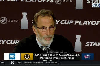 Despite result, John Tortorella thought Game 6 was Blue Jackets' best of the series