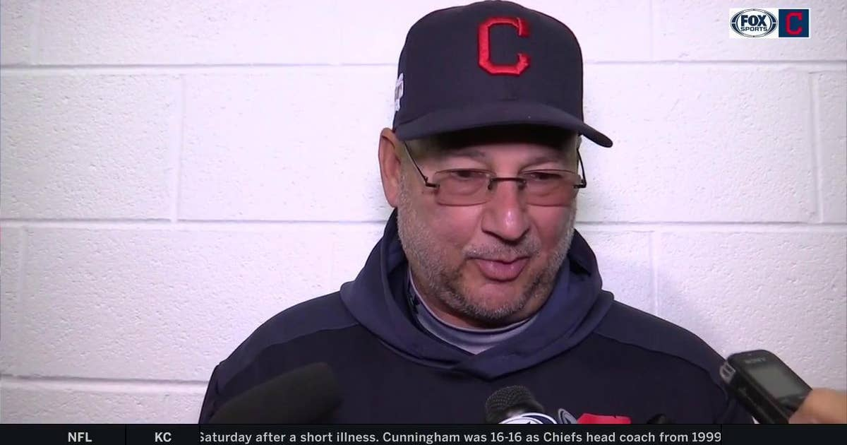 17a0bde5d Terry Francona won't exclude himself when discussing Tribe's shortcomings |  FOX Sports