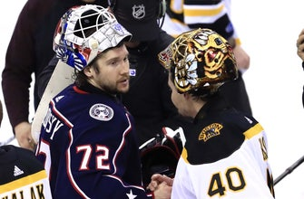 Blue Jackets' wild season comes to an end as Bruins win series in Game 6
