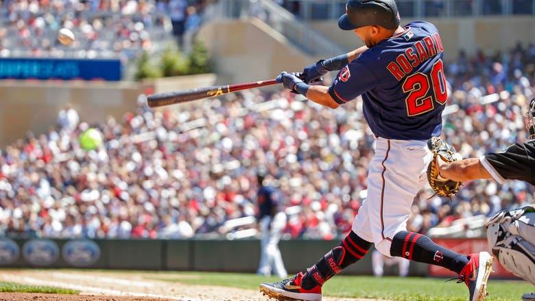 WATCH: Twins' Rosario, Kepler each hit 3-run homers
