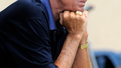 <p>               FILE - In this July 29, 2011, file photo, Denver Broncos NFL football team owner Pat Bowlen looks on during training camp in Englewood, Colo. Pat Bowlen, who transformed the team from also-rans into NFL champions and helped the league usher in billion-dollar television deals, died late Thursday night, June 13, 2019, just under two months before his enshrinement in the Pro Football Hall of Fame. He was 75. In a statement posted on the Broncos' website, Bowlen's family said he died peacefully at home surrounded by loved ones. (AP Photo/Jack Dempsey, File)             </p>