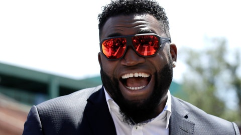 <p>               FILE - In this June 22, 2017, file photo, retired Boston Red Sox designated hitter David Ortiz, smiles outside Fenway Park in Boston. Ortiz returned to Boston for medical care after being shot in a bar Sunday, June 9, 2019, in his native Dominican Republic. (AP Photo/Charles Krupa, File)             </p>
