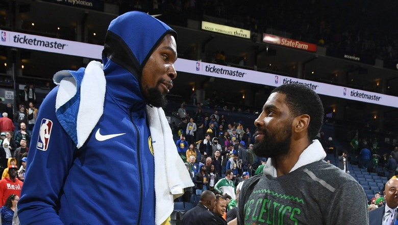 Cris Carter sheds light on Kyrie Irving trying to recruit Kevin Durant to come to the Nets