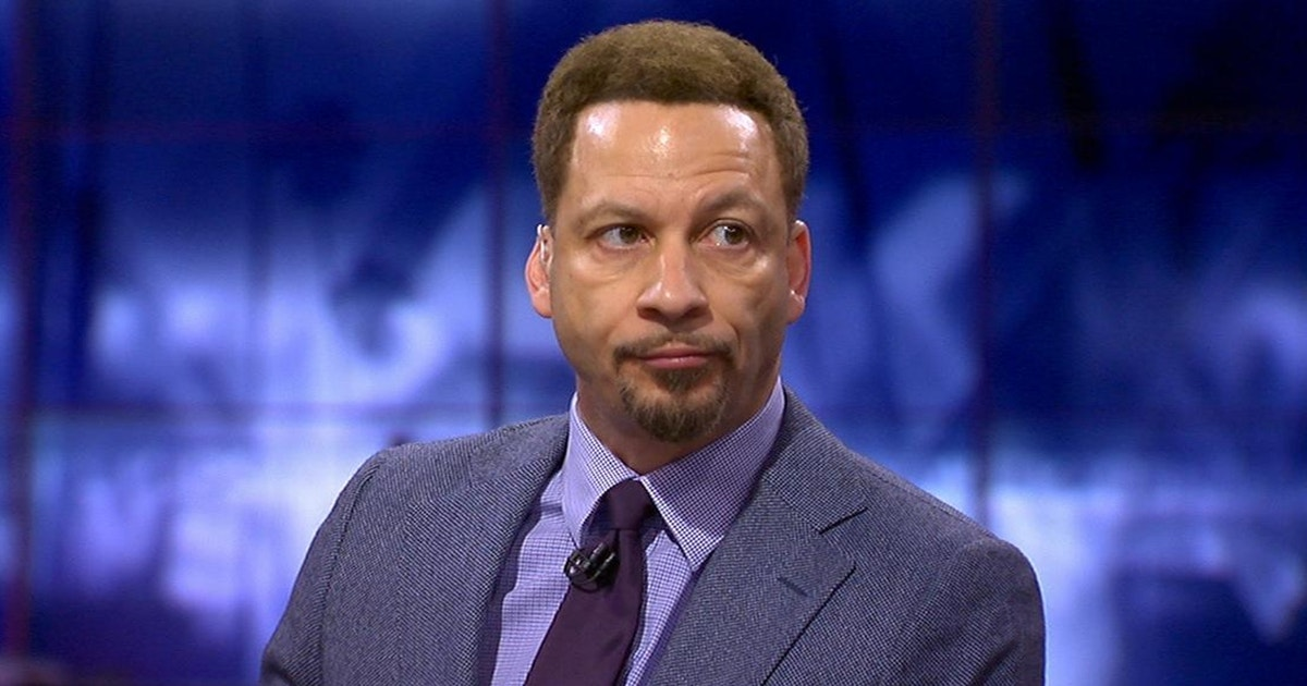 Chris Broussard reacts to the Toronto Raptors winning their first NBA Championship title