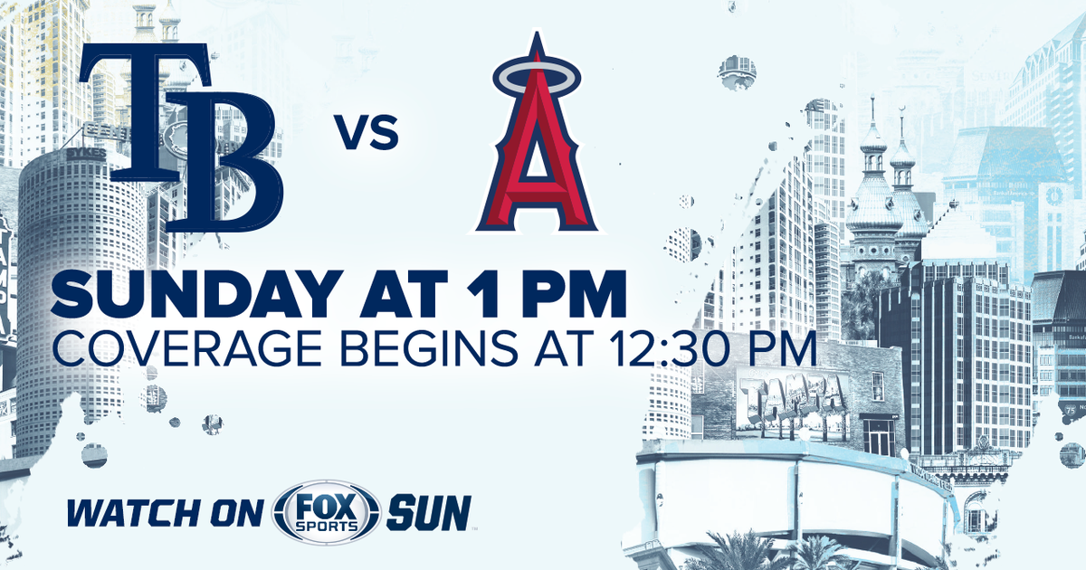 Los Angeles Angels at Tampa Bay Rays game preview