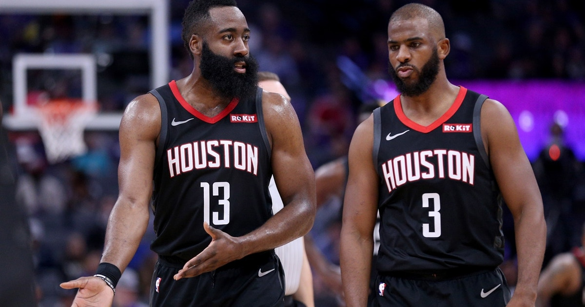 Nick Wright shares his thoughts on reports of friction between James Harden and Chris Paul
