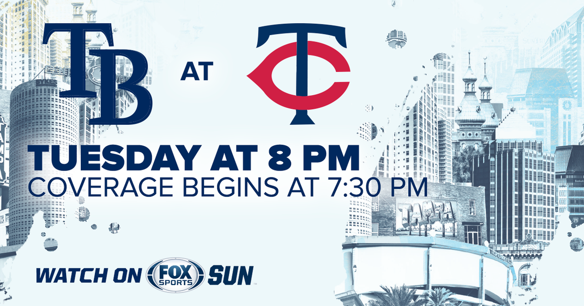 Tampa Bay Rays at Minnesota Twins game preview