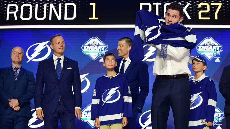 Lightning sign 2019 first-round draft pick Nolan Foote to 3-year entry level contract