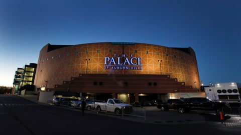 <p>               FILE - In this Nov. 21, 2016, file photo, The Palace of Auburn Hills in Auburn Hills, Mich., is viewed. Detroit Pistons owner Tom Gores and Livonia-based Schostak Brothers & Co. are forming a joint venture to redevelop The Palace of Auburn Hills and its surrounding land; the arena is expected to be demolished. (AP Photo/Paul Sancya, File)             </p>