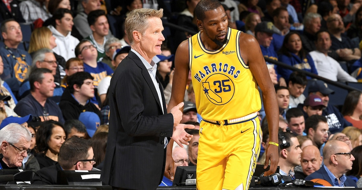 Cris Carter on Steve Kerr's comments: 'This made me feel like Kevin Durant didn't have a chance'