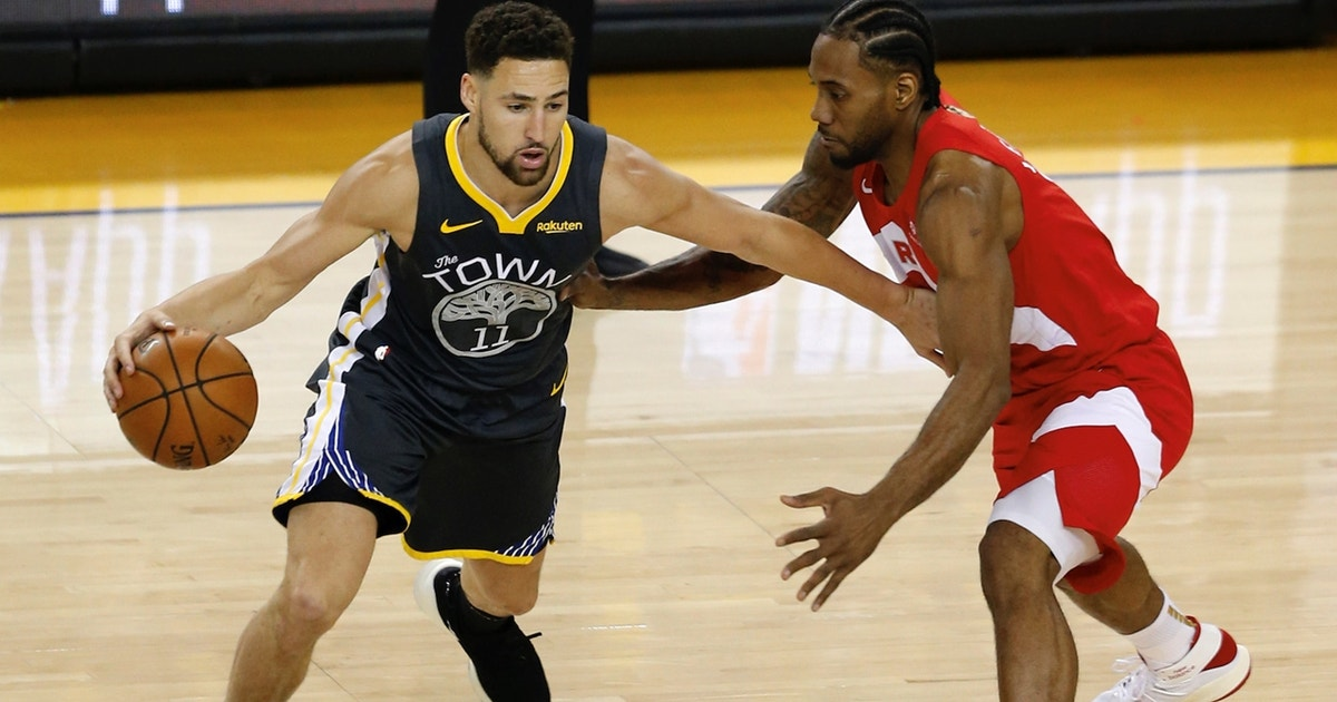 Cris Carter thinks the Warriors injuries will be a 'footnote' when looking back on Raptors title win
