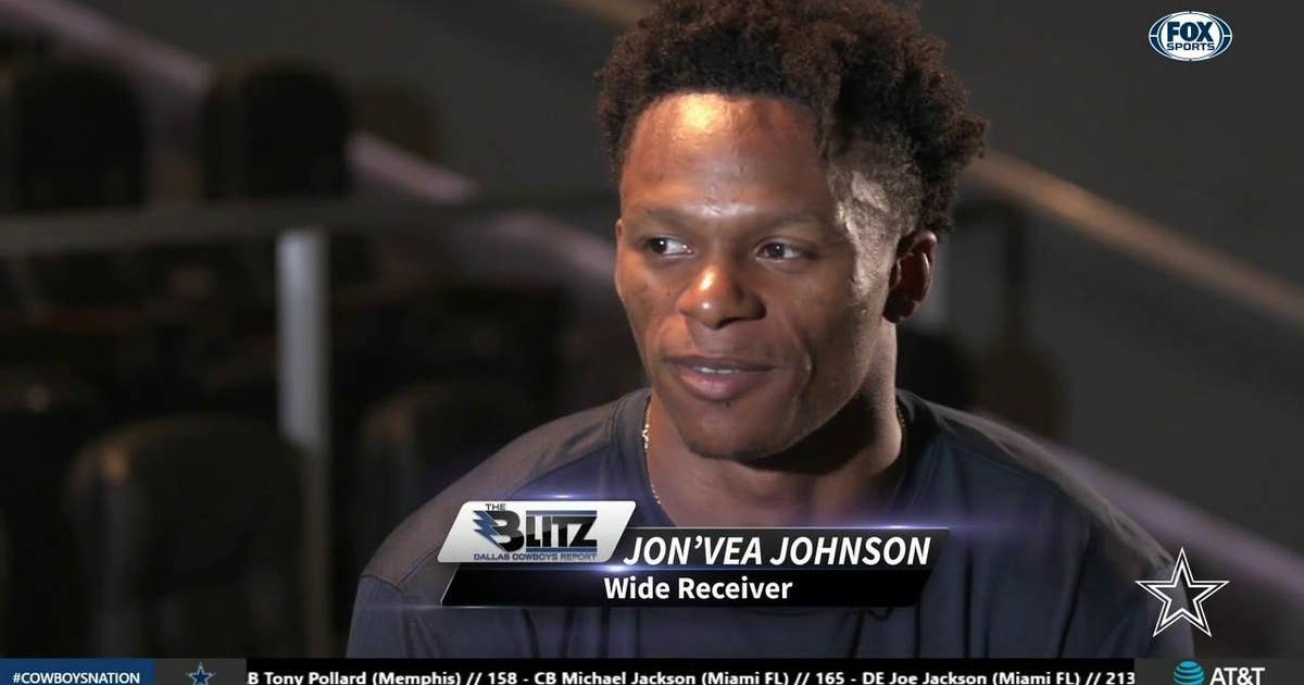 quality design 916a2 94cb6 Jon'Vea Johnson Enjoys being an Under Dog | The Blitz: Dallas Cowboys Report