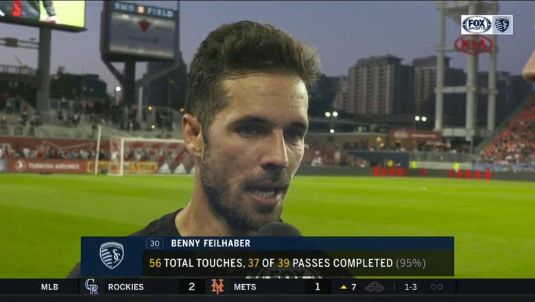Feilhaber: Sporting KC's draw with Toronto FC was 'a real letdown'