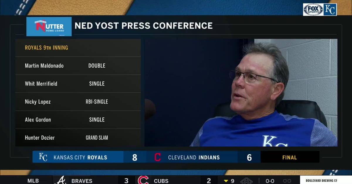 Ned Yost on Royals' win over Indians: 'It was an uplifting comeback'