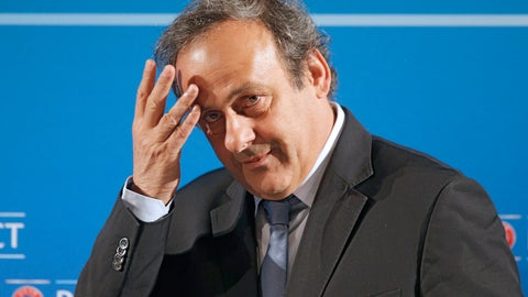 <p>               FILE - In this Feb.22, 2014 file photo, UEFA President Michel Platini arrives at a press conference, one day prior to the UEFA EURO 2016 qualifying draw in Nice, southeastern France. Former UEFA president Michel Platini has been arrested Tuesday June 18, 2019 over the awarding of the 2022 World Cup. (AP Photo/Lionel Cironneau, File)             </p>