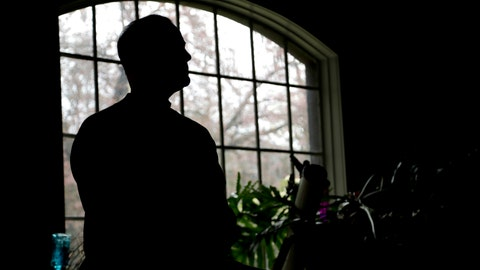 <p>               In a photo taken Friday, April 19, 2019, a man poses for The Associated Press in his home in Plainfield, N.J. The man has cleared his gambling addiction for 22 years by being a member of a 12-step program. He says he has seen the rise in television advertisements for gambling web sites. (AP Photo/Julio Cortez)             </p>