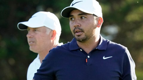<p>               Jason Day, of Australia, and caddie Steve Williams walk on the 13th hole during a practice round for the U.S. Open Championship golf tournament Tuesday, June 11, 2019, in Pebble Beach, Calif. (AP Photo/David J. Phillip)             </p>