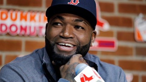 <p>               FILE - In this Sept. 30, 2016, file photo, Boston Red Sox's David Ortiz speaks during a news conference before a baseball game against the Toronto Blue Jays at Fenway Park, in Boston. Officials say Ortiz, who was shot in the Dominican Republic on June 9, 2019, at an outdoor cafe, was the victim of incompetent criminals who were trying to kill a man next to him. (AP Photo/Elise Amendola, File)             </p>