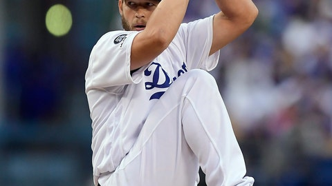 <p>               Los Angeles Dodgers pitcher Clayton Kershaw winds up during the first inning of the team's baseball game against the Philadelphia Phillies on Saturday, June 1, 2019, in Los Angeles. (AP Photo/Mark J. Terrill)             </p>
