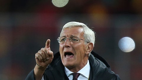 <p>               FILE - In this Nov. 15, 2016, file photo, then China's head coach Marcello Lippi gestures during the Group A World Cup 2018 Asian qualifier soccer match against Qatar, in Kunming in southwestern China's Yunnan province. Lippi is set to return for a second stint in charge of China's national team as the country targets a place at the 2022 World Cup, the Chinese Football Association announced Friday, May 24, 2019. (Color China Photo via AP, File)             </p>